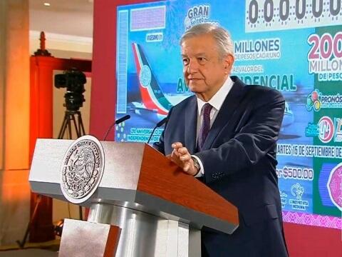 Decidido: el avión presidencial se rifará el 15 de septiembre