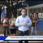 Lleva Carlos Cabrera apoyos a habitantes de la Ampliación López Mateos