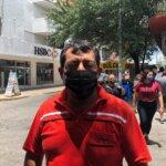 Nos dejan en casa pero sin agua y luz: Ambulantes
