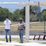 Supervisan infraestructura deportiva en Victoria