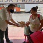 Lleva Ruben Rivera apoyos a quien más lo necesita en tiempos de pandemia