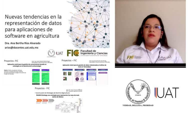 Alumnos de la UAT diseñan software para aplicaciones agrícolas