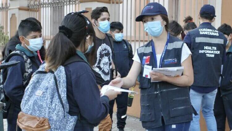 Tras tres días de clases, Chile registra casos COVID en 43 escuelas