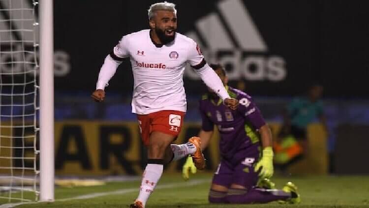 Diablos del Toluca vencen con gol de Alexis Canelo a Tigres de la UANL