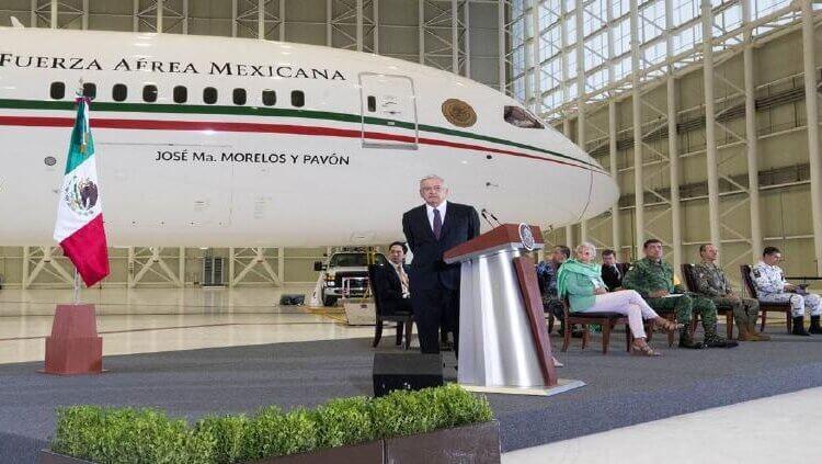 Insistirá Gobierno Federal en vender el avión presidencial