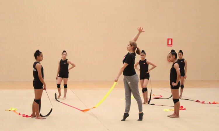 Tienen gimnastas tamaulipecas control técnico con entrenadora búlgara
