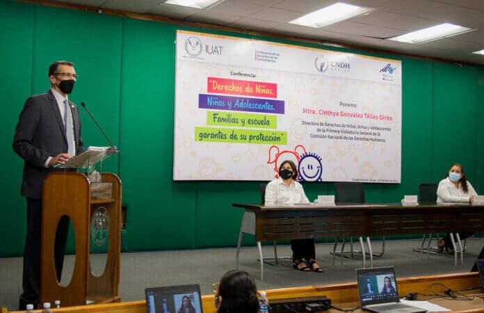 Promueve UAT cultura de protección de los derechos de la niñez
