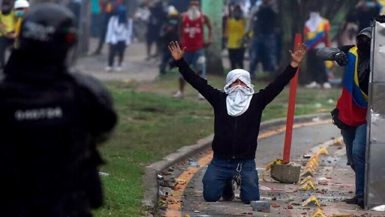 Colombia: denuncian 89 desapariciones y cientos de abusos en protestas
