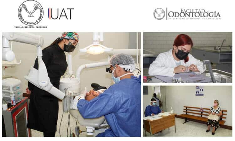Reanuda UAT servicios de clínica dental en el Campus Tampico