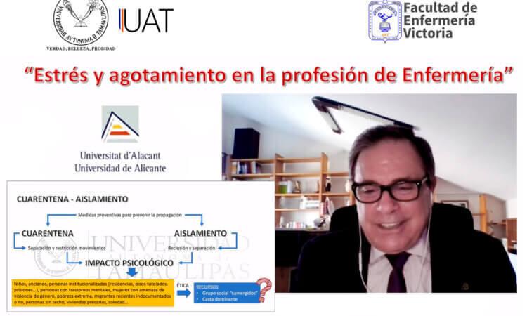 Analizan en la UAT el papel de la enfermería en el combate al COVID-19