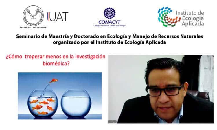 Especialista de la UAT comparte con estudiantes su experiencia en estudios de farmacología