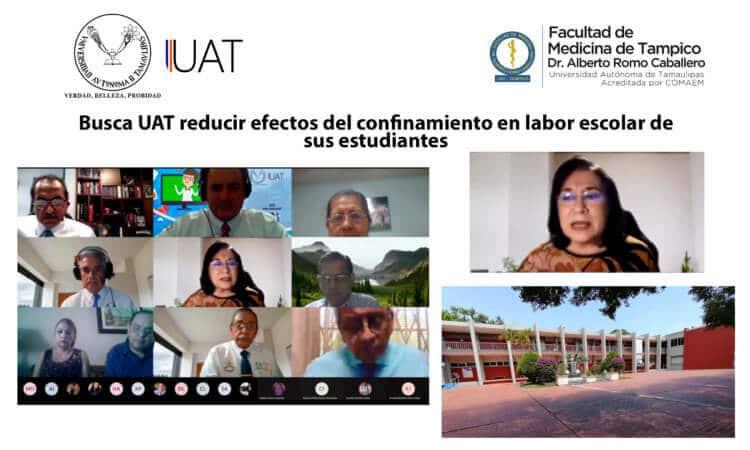 Busca UAT reducir efectos del confinamiento en labor escolar de sus estudiantes