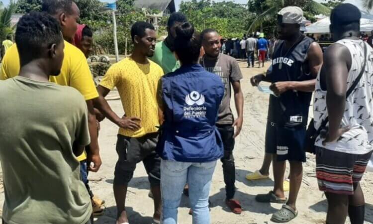 Unos 19 mil haitianos están varados en frontera de Colombia y Panamá
